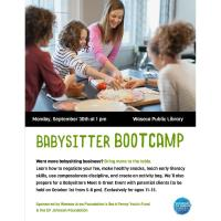 Babysitter Bootcamp-Waseca Public Library
