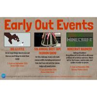 Early Out Events -Big & Little Waseca Public Library