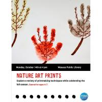Nature Art Prints- Waseca Public Library