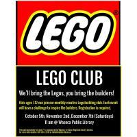 Lego Club- Waseca Public Library