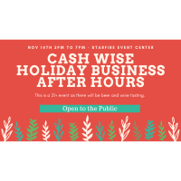 2019 Business After Hours: Cash Wise