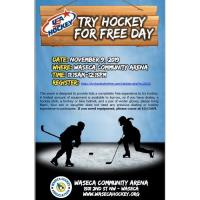 Try Hockey for Free- Waseca Community Arena