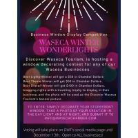 Waseca Winter Wonderlights-Business Window Display Competition