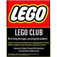 Lego Club @ Waseca Public Library