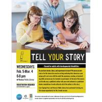 Tell Your Story @ Waseca Public Library