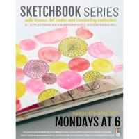 Sketchbook Series with Waseca Art Center and Creative Bug instructors