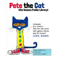 Pete the Cat hits the Waseca Public Library