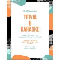 Trivia & Karaoke @ The Mill