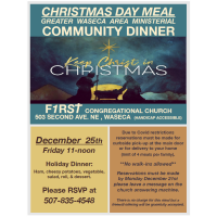 Christmas Day Ministerial Community Dinner