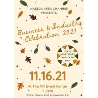 Business & Industry Celebration 2021 @ The Mill Event Center