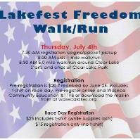 Lakefest Freedom Walk/Run