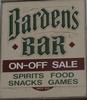 Barden's Bar, Inc.