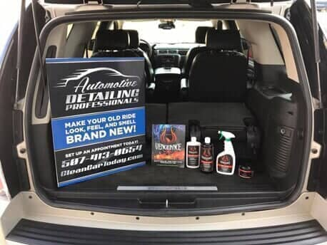 We are a wholesale and retail distributor of Vengeance Extreme Detailing Products