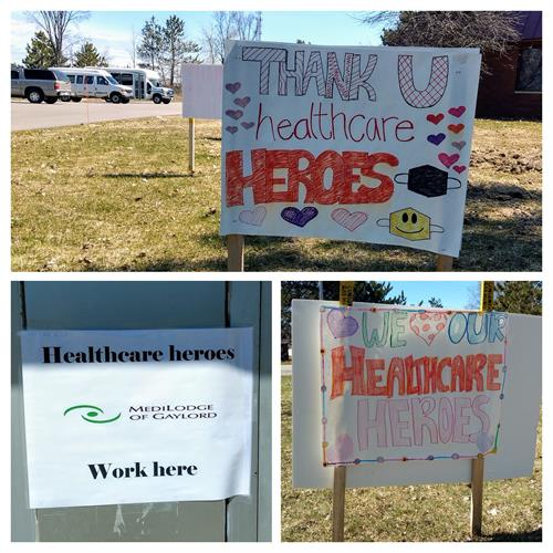 A big shout out to our community for showing our Healthcare heroes just how much they are appreciated.