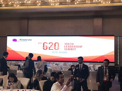 Model G20 Beijing, China 2019