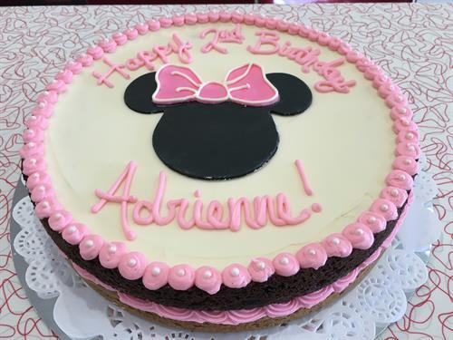 Brookie birthday cake