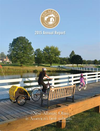 New Albany Annual Report 2016 - We also published the 2017 and 2018 issue
