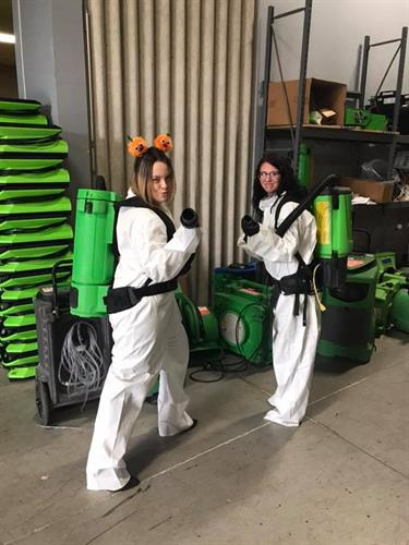 SERVPRO of Northeast Columbus Halloween outfits