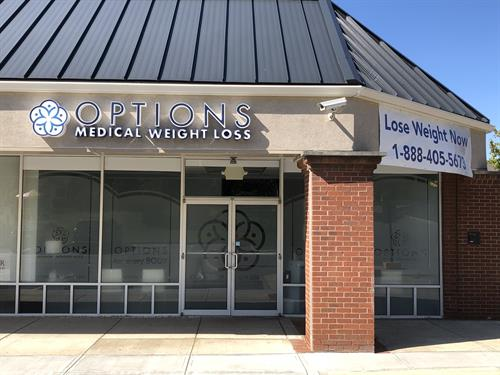 Options Medical Weight Loss in Rocky Point Plaza in Gahanna, OH