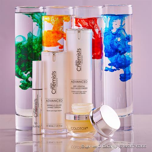Skin Chemists London Product Photography