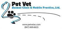 Pet Vet Animal Clinic & Mobile Practice, Ltd