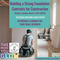 Building a Strong Foundation: Contracts for Construction