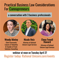 Practical Business Law Considerations for Cannapreneurs