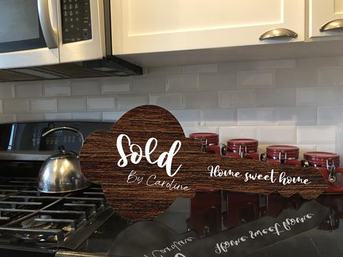 Realtor custom signage