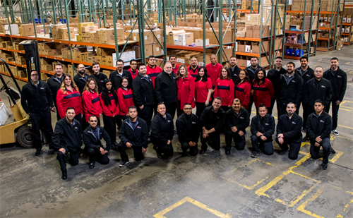 Salter's Distributing Staff Photo - December 2017