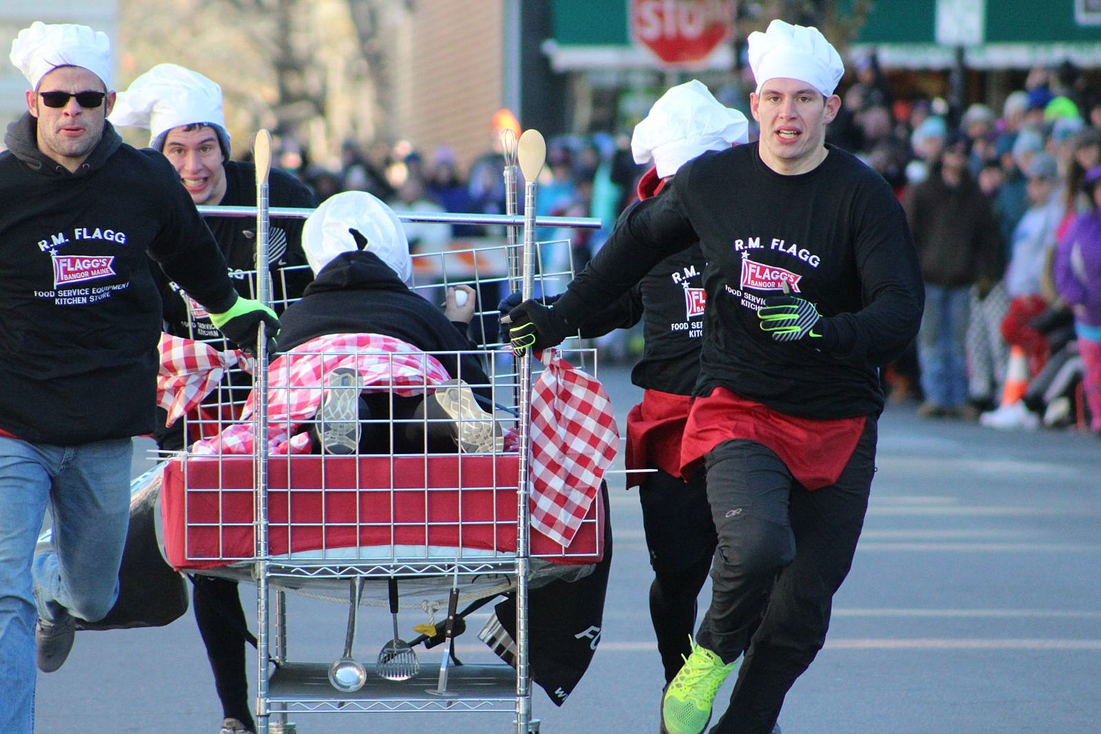 Bar Harbor's Bed Race – The Shocking Truth According to Alf Anderson