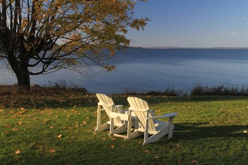 View of Frenchman Bay from Saltair Inn Waterfront B&B