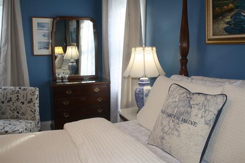 Chart Room at the Saltair Inn in Bar Harbor, ME