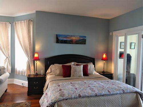 Master Suite at Saltair Inn Waterfront B&B