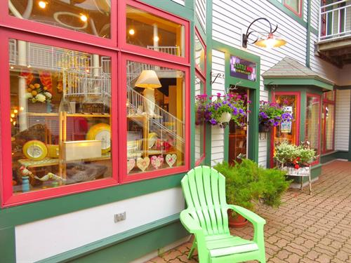 A LITTLE MAD: A Curiously Unique Gift Shop & Gallery find us in the Bayside Landing Courtyard