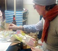 Collage & Oil Paint Portraits - Two Day Workshop