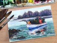 ArtWaves Virtual Class: Experimental Watercolor Painting with Erica Qualey