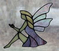 Stained Glass Mosaic Fairies