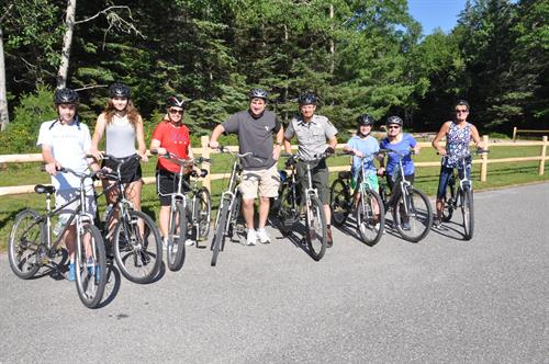 Our Ranger-led bike tours run Tuesday-Friday in July and August and Tuesdays & Thursdays in September.  This ride on the carriage roads is a great way to learn about the history, geology and ecology of Mount Desert Island and Acadia National Park.