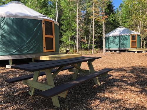 Northeast Whitewater Yurts
