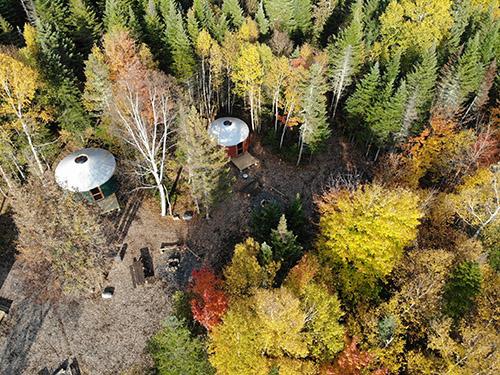 Northeast Whitewater Yurt Camping