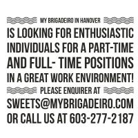 Full & Part-Time Positions @ My Brigadeiro Hanover