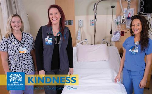 We are a kind and caring place to work and receive care.