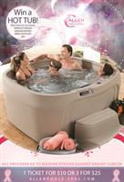 Allen Pools & Spas Launches Annual Hot Tub Raffle
