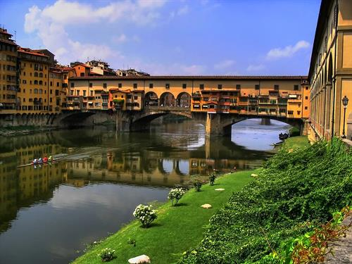 Remarkable Ponte Vecchio in Florence