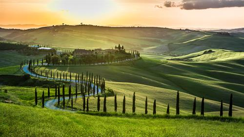 Breathtaking Tuscan Countryside