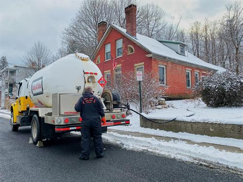 Ask us about Propane Gas & Bio-Blend Heating Oil