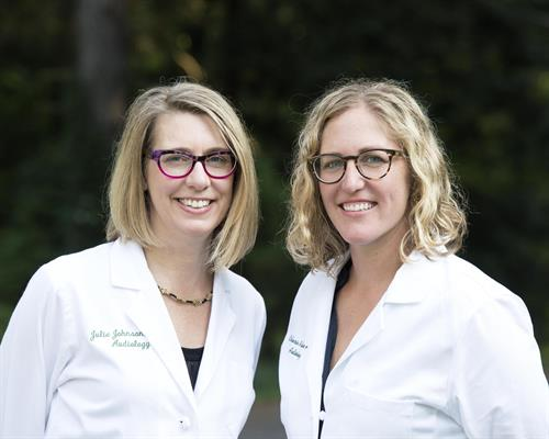 Drs. Julie Johnson and Catherine Rieke