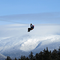 Breathtaking winter canopy tours