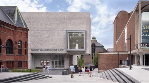 The Hood Museum of Art north façade. Photograph © Michael Moran