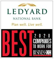 Ledyard National Bank Named One of New Hampshire's 2020 Best Companies to Work For